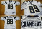 nfl San Diego Chargers #89 Chambers White