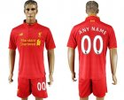 2016-17 Liverpool Home Customized Soccer Jersey