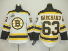 nhl boston bruins #63 marchand white[2011 stanley cup champions]