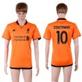 2017-18 Liverpool 10 COUTINHO Third Away Thailand Soccer Jersey