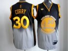 nba golden state warriors #30 curry black-grey[2012 limited]