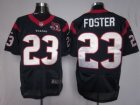 Nike NFL Houston Texans #23 Arian Foster Blue[10th Patch]Elite Jerseys