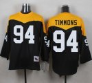 Mitchell And Ness 1967 Pittsburgh Steelers #94 Lawrence Timmons Black Yelllow Throwback Men Stitched NFL Jersey
