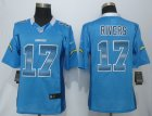 2015 New Nike San Diego Charger #17 Rivers Blue Strobe Jerseys(Limited)