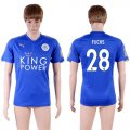 2017-18 Leicester City 28 FUCHS Home Thailand Soccer Jersey