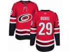 Men Adidas Carolina Hurricanes #29 Bryan Bickell Authentic Red Home NHL Jersey