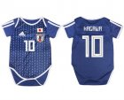 Japan 10 KAGAWA Home Toddler 2018 FIFA World Cup Soccer Jersey