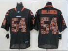 Nike Chicago Bears #54 Brian Urlacher Black Jerseys[Elite lights out]