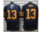 Nike NFL Chicago Bears #13 Johnny Knox Dk.Blue Elite jerseys
