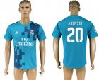 2017-18 Real Madrid 20 ASENSIO Third Away Thailand Soccer Jersey