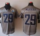 Nike Cowboys #29 DeMarco Murray Grey With Hall of Fame 50th Patch NFL Elite Jersey
