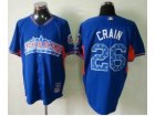 mlb 2013 all star jerseys chicago white sox #26 crain blue