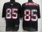 nfl new england patriots #85 ochocinco black[united sideline]