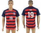 USA 19 ZUSI 2017 CONCACAF Gold Cup Away Thailand Soccer Jersey