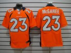 Nike NFL denver broncos #23 mcgahee orange Elite Jerseys
