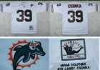 nfl Miami Dolphins #39 csonka Throwback white
