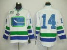 nhl vancouver canucks #14 burrows white 3rd[2011 stanley cup]