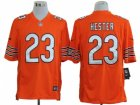 Nike NFL Chicago Bears #23 Devin Hester Orange Game Jerseys