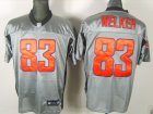 New England Patriots #83 Wes Welker gray shadow