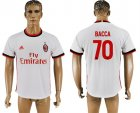2017-18 AC Milan 70 BACCA Away Thailand Soccer Jersey