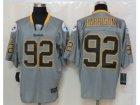 Nike Pittsburgh Steelers #92 James Harrison Grey Jerseys(Lights Out Elite)
