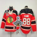 nhl jerseys chicago blackhawks #88 kane red[pullover hooded sweatshirt][2013 Stanley cup champions]
