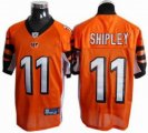 nfl cincinnati bengals 11 shipley orange