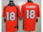 Nike Denver Broncos #18 Manning Orange[Limited]Jerseys