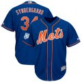 Mets #34 Noah Syndergaard Royal 2019 Spring Training Cool Base Jersey