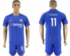 2017-18 Chelsea 11 PEDRO Home Soccer Jersey