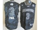 2013 nba all star los angeles clippers #3 paul grey jerseys