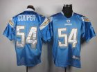 nfl san diego chargers #54 cooper lt.blue