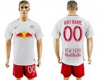 2016-17 New York Red Bulls Home Customized Soccer Jersey