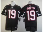 Nike NFL Arizona Cardinals #19 John Skelton Black Jerseys(Elite)
