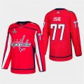 Capitals #77 T.J. Oshie Red 2018 Stanley Cup Champions Adidas Jersey