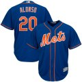 Mets #20 Pete Alonso Royal Cool Base Jersey