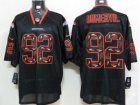 Nike NFL Denver Broncos #92 Elvis Dumervil black jerseys[Elite united sideline]