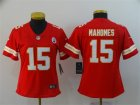 Nike Chiefs #15 Patrick Mahomes Red Women Vapor Untouchable Limited Jersey