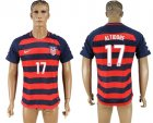USA 17 ALTIDORE 2017 CONCACAF Gold Cup Away Thailand Soccer Jersey