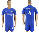 2017-18 Chelsea 4 FABREGAS Home Soccer Jersey