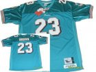 nfl Miami Dolphins #23 Brown Throwback green