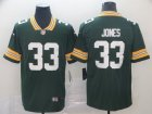 Nike Packers #33 Aaron Jones Green Vapor Untouchable Limited Jersey