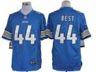 Nike NFL Detroit Lions #44 Jahvid Best blue Jerseys(Limited)