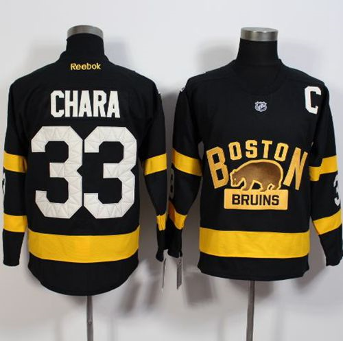 Boston Bruins #33 Zdeno Chara Black 2016 Winter Classic Stitched NHL Jersey