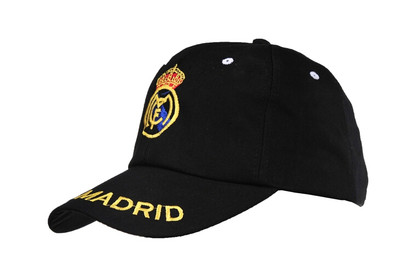 2014 Brazil World Cup Soccer Real Madrid Black Snapback Hat