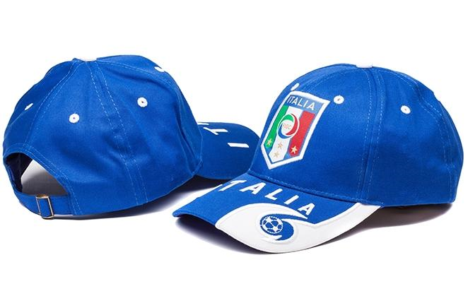 Italy Blue Soccer Hat