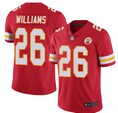 Nike Chiefs #26 Williams Red 2020 Super Bowl LIV Vapor Untouchable Limited Jersey