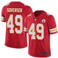 Nike Chiefs #49 Sorensen Red 2020 Super Bowl LIV Vapor Untouchable Limited Jersey
