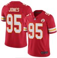 Nike Chiefs #95 JONES Red 2020 Super Bowl LIV Vapor Untouchable Limited Jersey